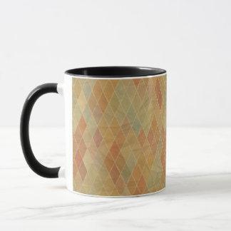 Mug Rétro motif géométrique 2