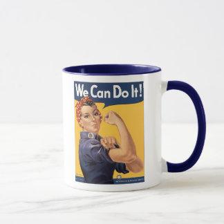 Mug Rétro Rosie nous pouvons le faire