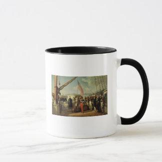 Mug Réunion b/w Louis-Philippe et Reine Victoria