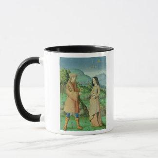 Mug Réunion d'Aeneas et Anne, la soeur du Dido