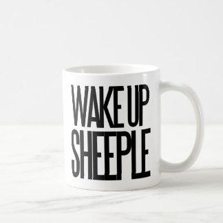 Mug Réveillez le sheeple