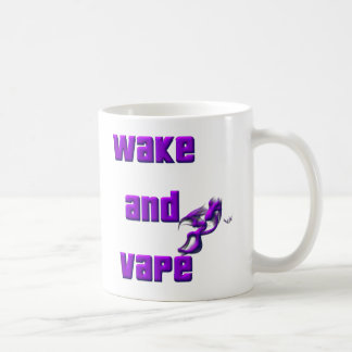 Mug réveillez-vous et vape