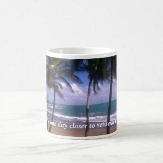Mug Rêves de retraite d'île