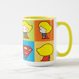 Mug Revirement de caractère de Chibi Supergirl