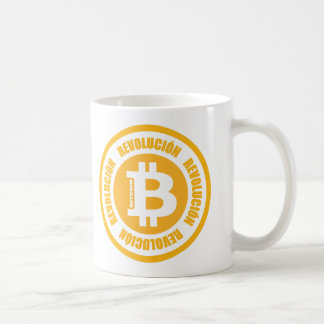 Mug Révolution de Bitcoin (version espagnole)