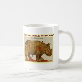 Mug Rhinocéros raide, inflexible, invincible brown.jpg
