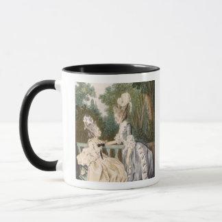 Mug Robe de matin des dames, 1771 (gravure de couleur)