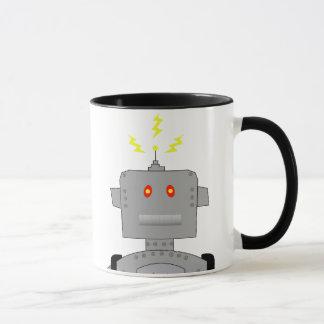 Mug robot confus