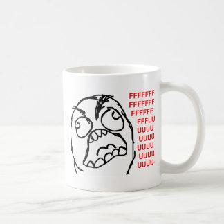 Mug rofl comique de lol de meme de rage de visage de