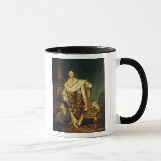 Mug Roi de Louis XVI de la France dans des robes