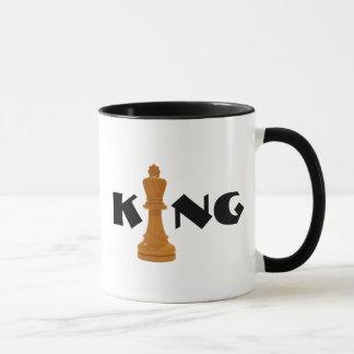 Mug roi d'échecs