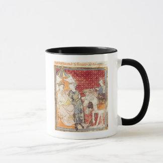 Mug Roland offrant l'adieu à Charlemagne
