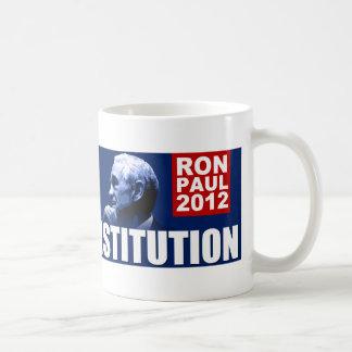Mug Ron Paul : Champion de la constitution