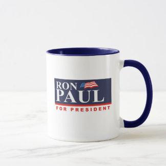 Mug RON PAUL POUR le PRÉSIDENT (interdiction