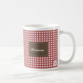 Mug rose à personnaliser - Moi Super Maman