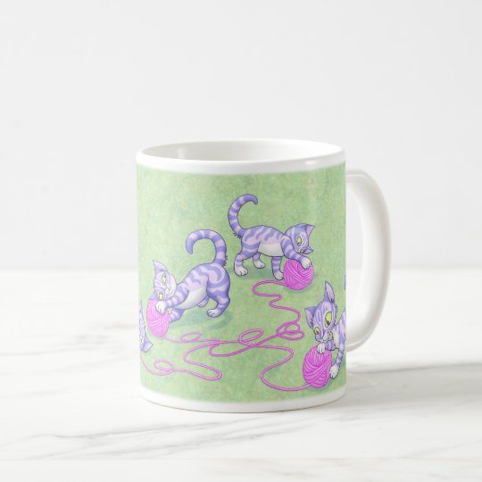 Mug Rose pourpre de Kittipurra