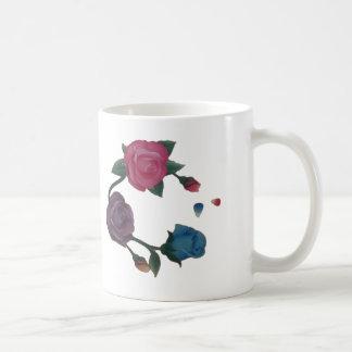 Mug Rose rose de pourpre