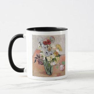Mug Roses de Vincent van Gogh   et anémones, 1890