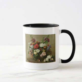 Mug Roses et pivoines français, 1881