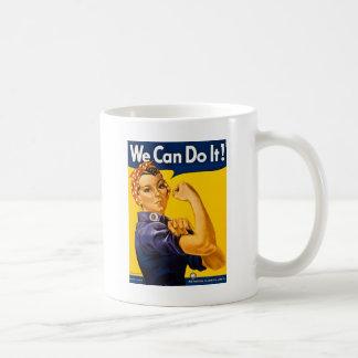 Mug Rosie le rivoir nous pouvons le faire vintage