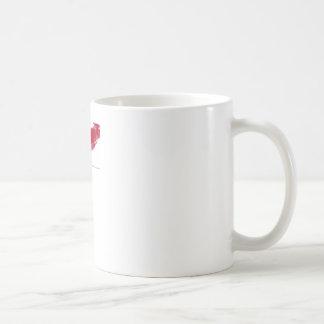 Mug rouge à lèvres