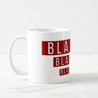 Mug Rouge de Bla Bla Bla