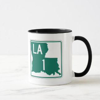 Mug Route 1, Louisiane, Etats-Unis