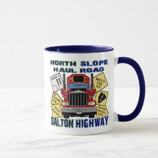 Mug Route du nord de Dalton de route de transport de
