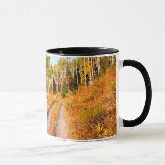 Mug Route par des couleurs d'automne