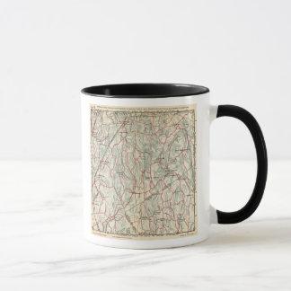 Mug Routes de bicyclette à New York et Connecticut