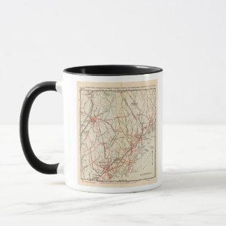 Mug Routes de bicyclette à New York et Connecticut 3