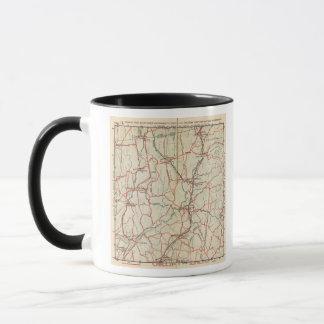Mug Routes de bicyclette à New York et Connecticut 4