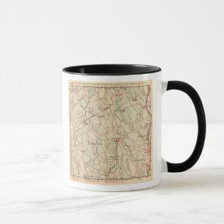 Mug Routes de bicyclette à New York et Connecticut 5
