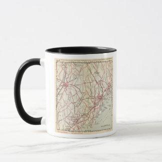 Mug Routes de bicyclette à New York et Connecticut 6