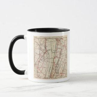 Mug Routes de bicyclette à New York et Connecticut 7