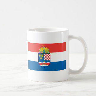 Mug Royaume de la Dalmatie Croatie et de drapeau de la