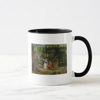 Mug Rubens et Helene Fourment dans le jardin