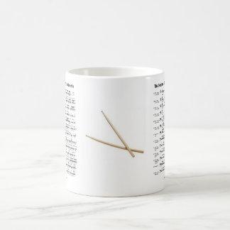 Mug rudiment-bâtons