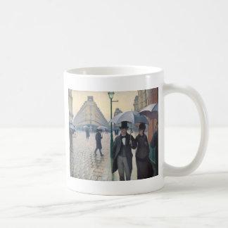 Mug Rue de Paris ; Jour pluvieux