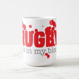 Mug RUGBY - il est dans mon sang