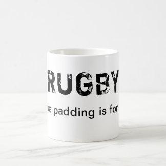 Mug Rugby - puisque le capitonnage est pour des