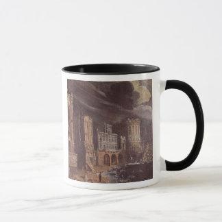 Mug Ruines avec la légende de St Augustine (l'huile