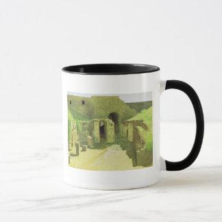 Mug Ruines italiennes, 1876