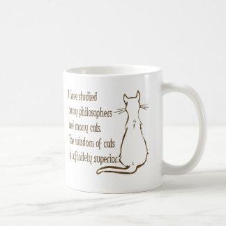 Mug Sagesse des chats