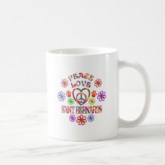 Mug Saint Bernards d'amour de paix