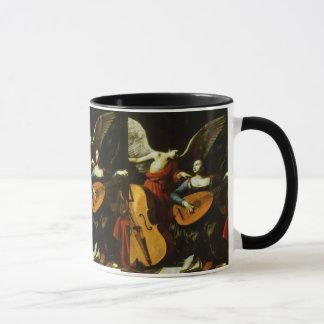 Mug Saint Cecilia et l'ange par Carlo Saraceni