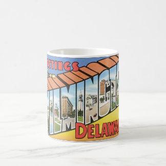 Mug Salutations de Wilmington Delaware