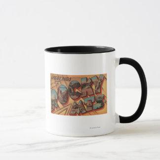 Mug Salutations des montagnes rocheuses
