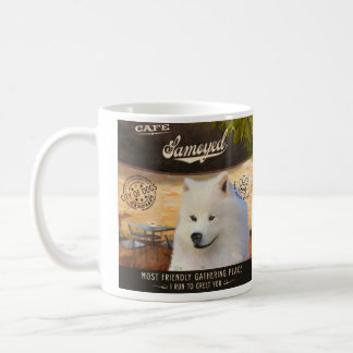 Mug Samoyed de café