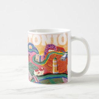 Mug San Antonio Soundscape - un hommage à Hockney